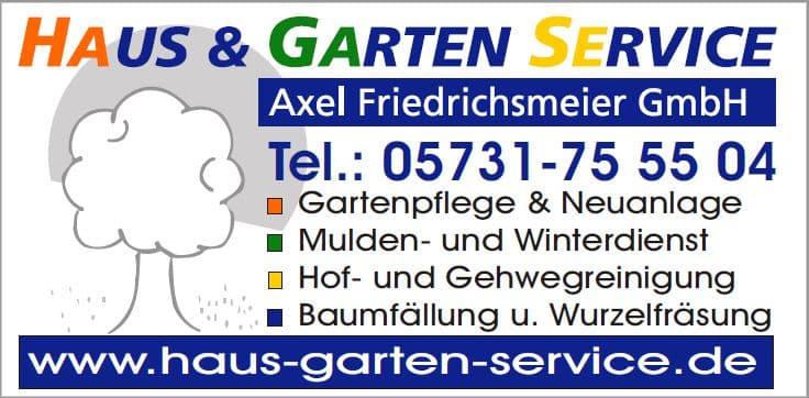 Haus & Garten Service Axel Friedrichsmeier GmbH